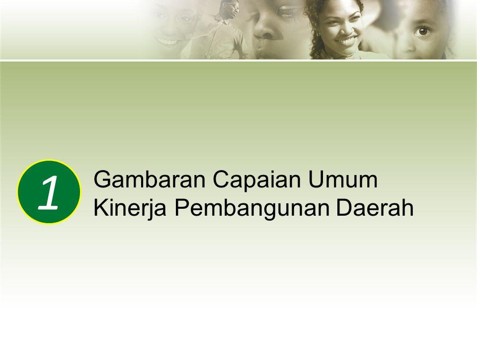 1 Gambaran Capaian Umum Kinerja Pembangunan Daerah