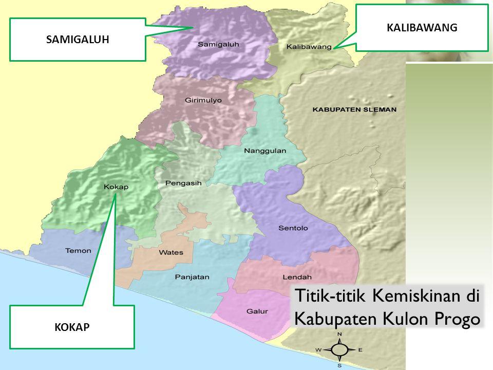 Titik-titik Kemiskinan di Kabupaten Kulon Progo