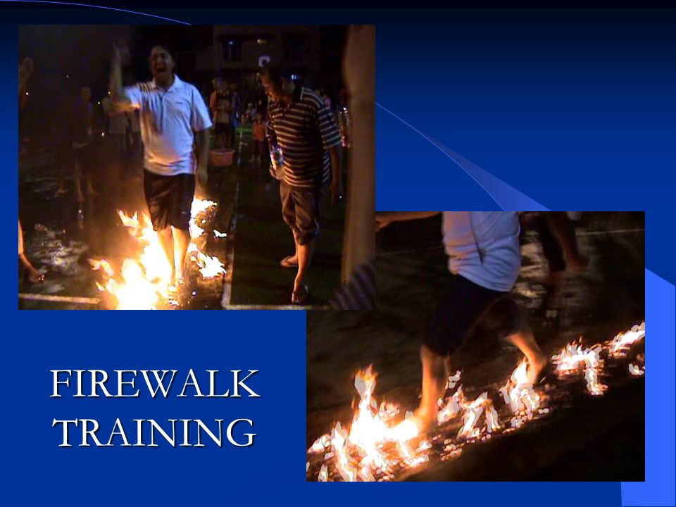 FIREWALK TRAINING