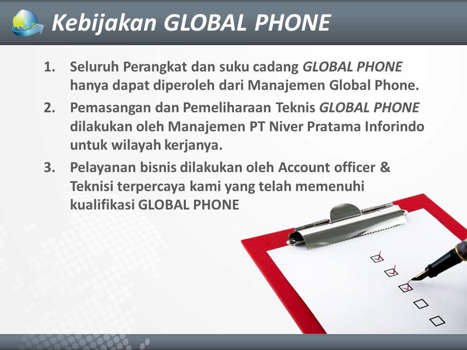 Kebijakan GLOBAL PHONE