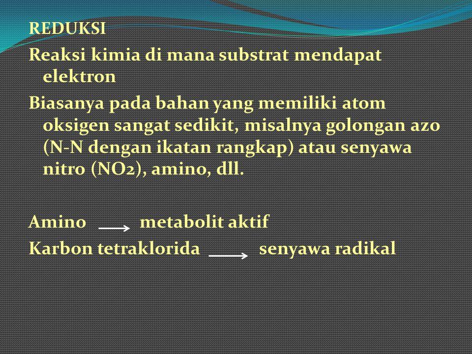 Reaksi kimia di mana substrat mendapat elektron
