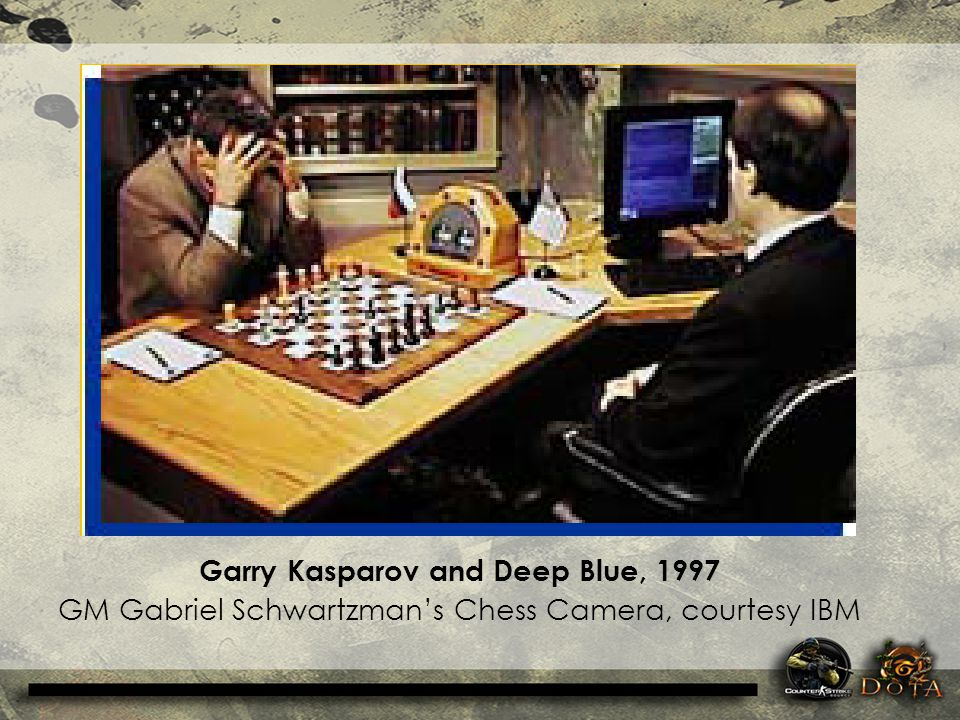 Garry Kasparov and Deep Blue, 1997