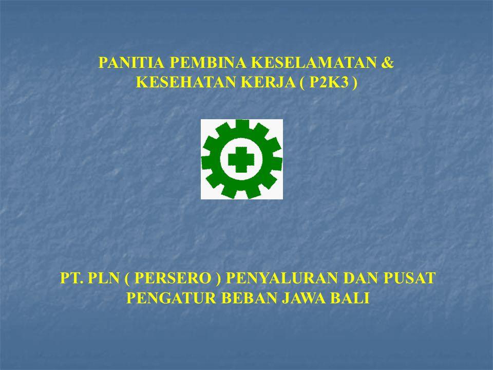 PANITIA PEMBINA KESELAMATAN & KESEHATAN KERJA ( P2K3 )
