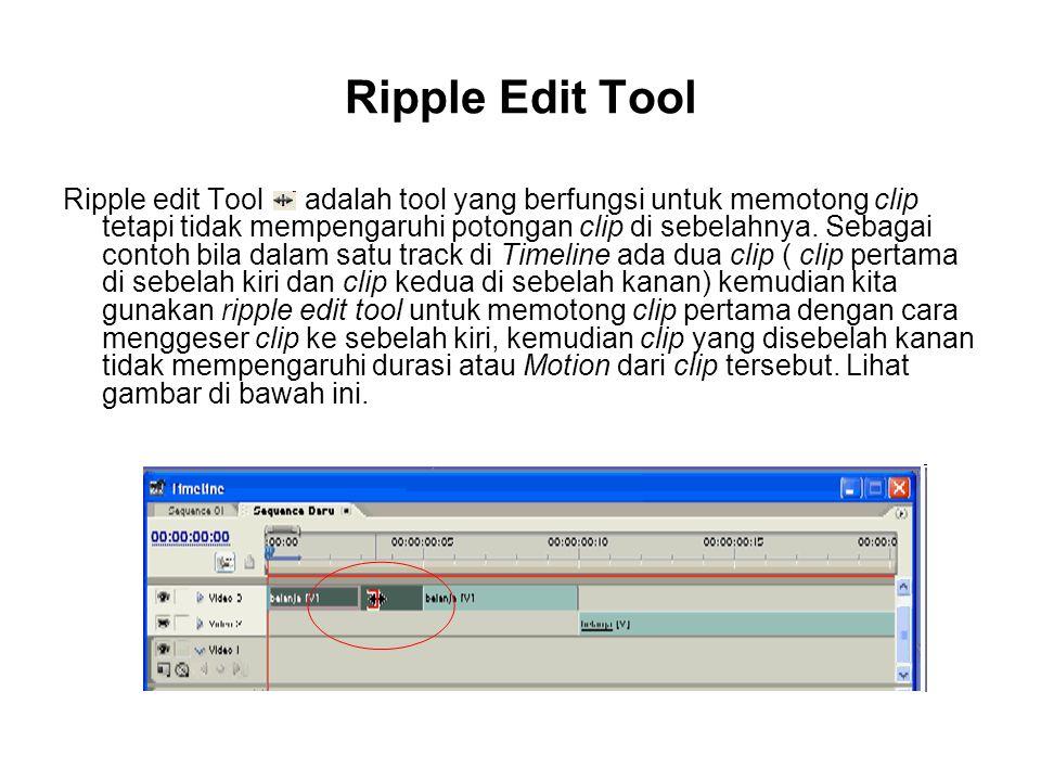 Ripple Edit Tool