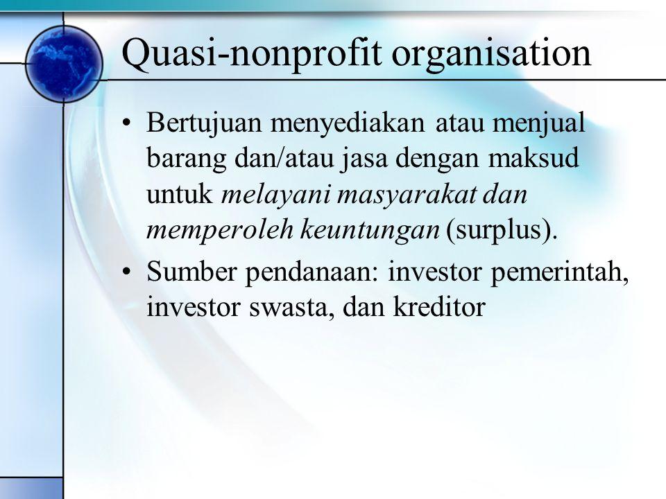 Quasi-nonprofit organisation