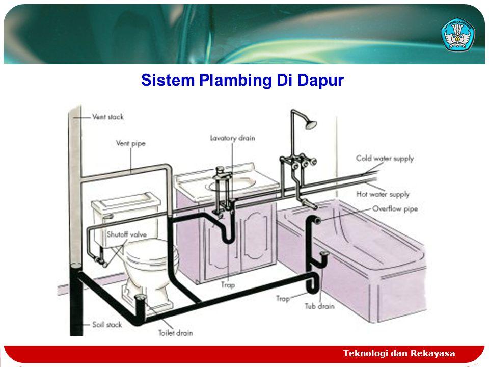 Sistem Plambing Di Dapur