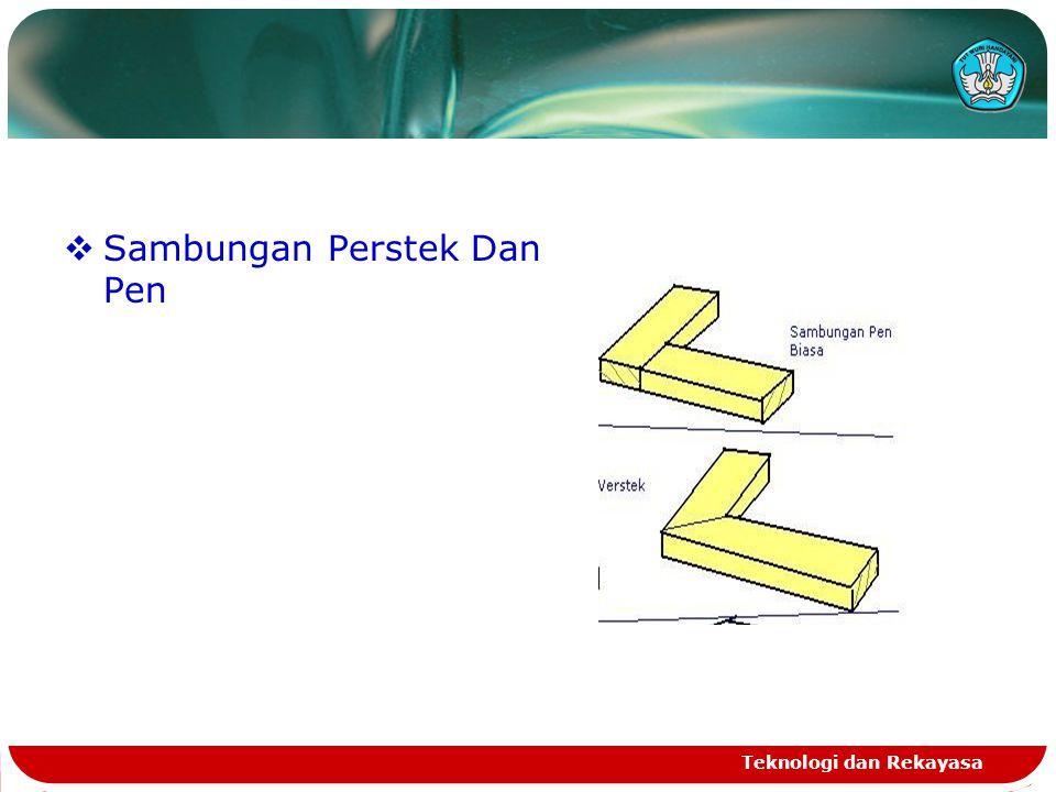 Sambungan Perstek Dan Pen