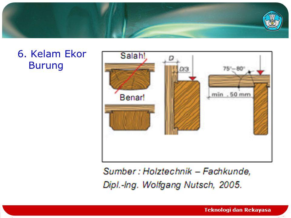 6. Kelam Ekor Burung Teknologi dan Rekayasa