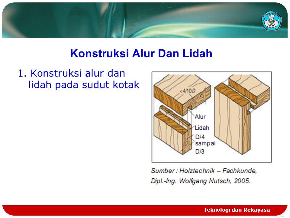 Konstruksi Alur Dan Lidah