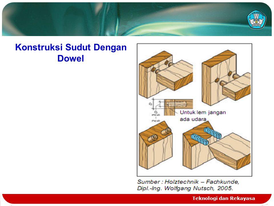 Konstruksi Sudut Dengan Dowel