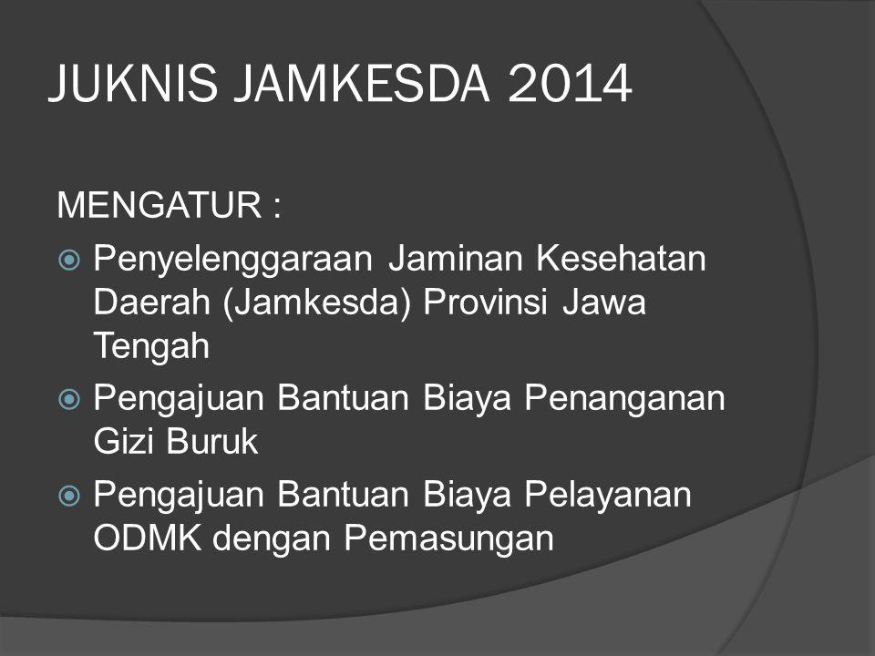 JUKNIS JAMKESDA 2014 MENGATUR :