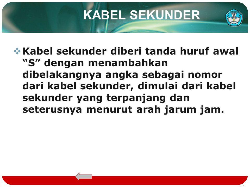 KABEL SEKUNDER