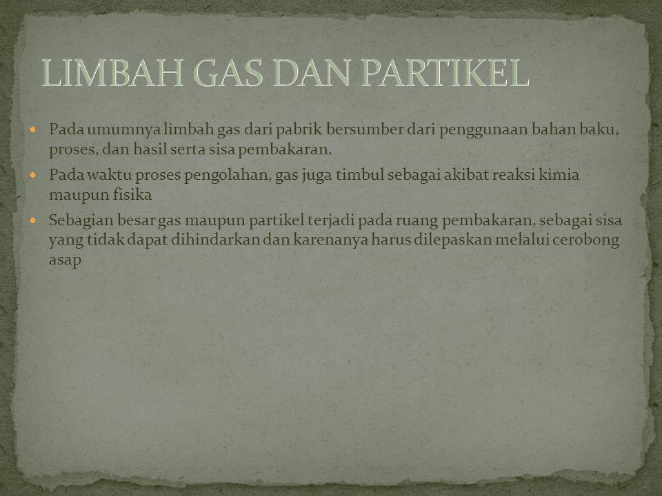LIMBAH GAS DAN PARTIKEL