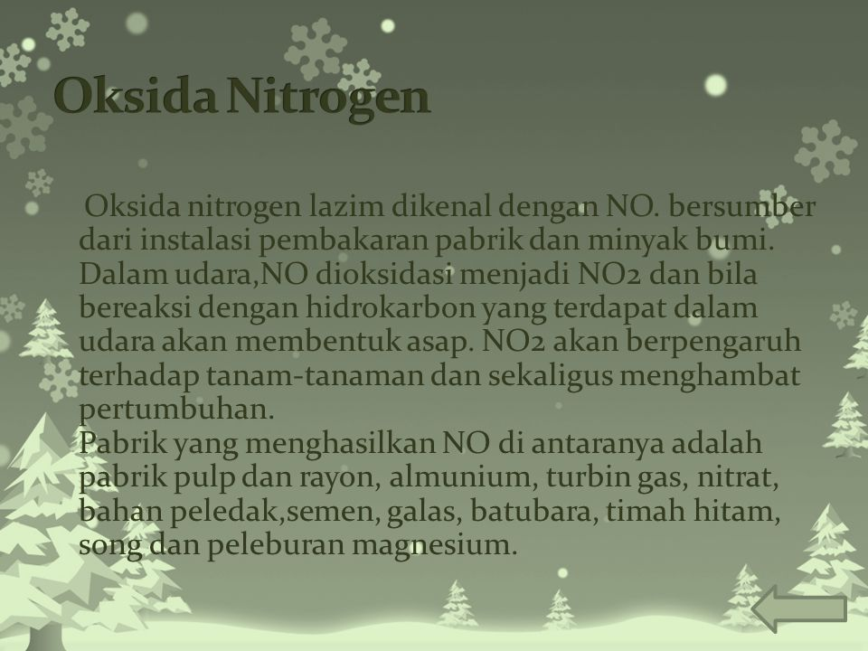 Oksida Nitrogen