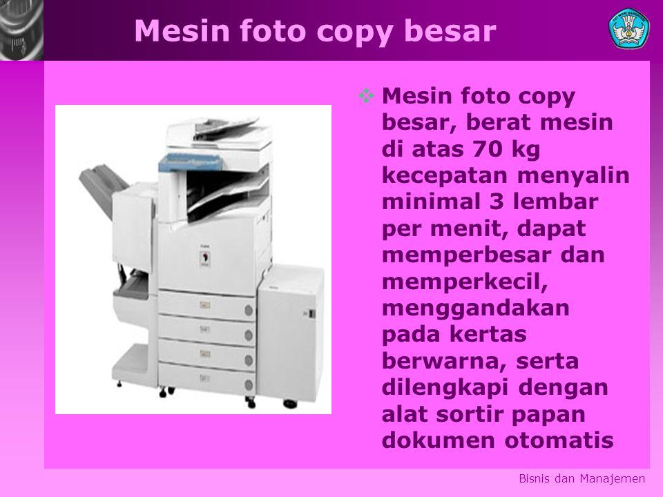 Mesin foto copy besar