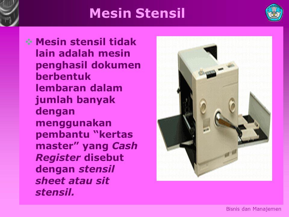 Mesin Stensil