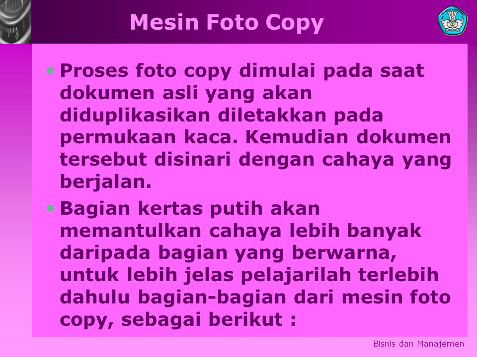 Mesin Foto Copy