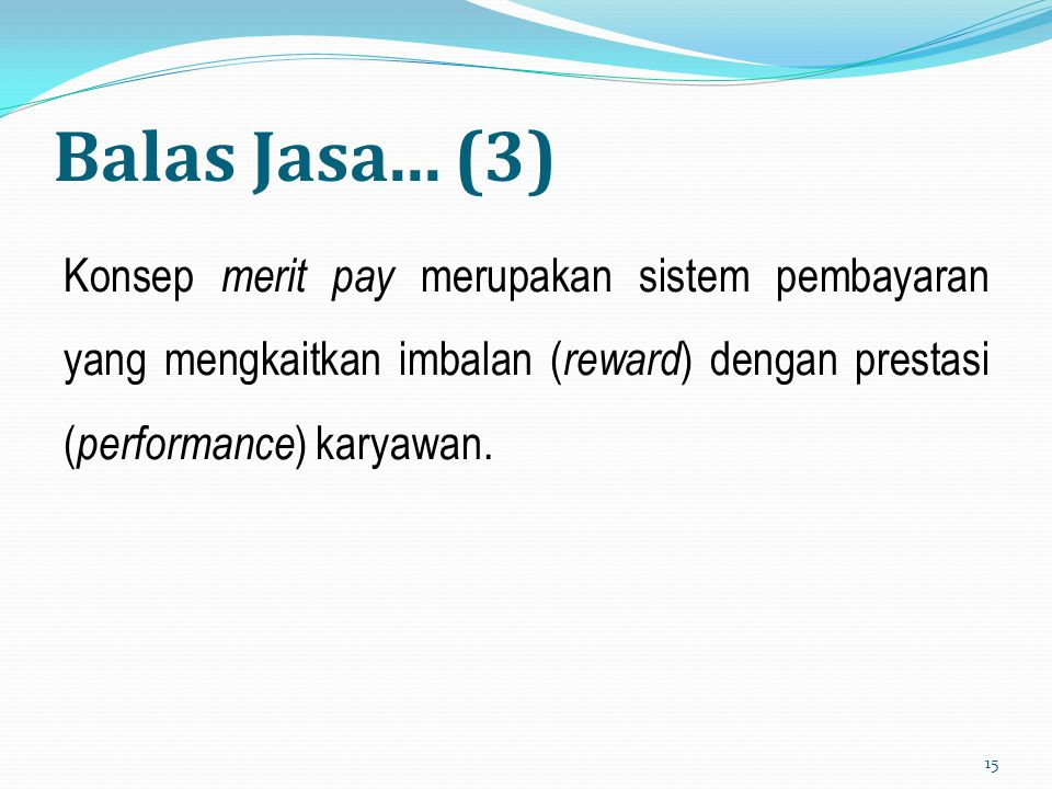 Balas Jasa...