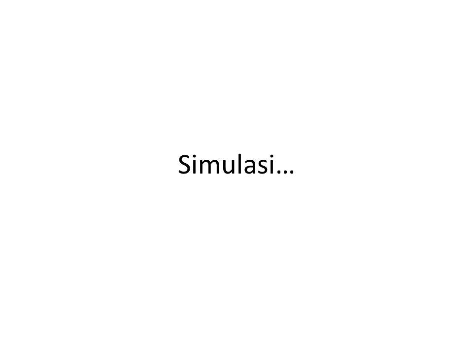 Simulasi…