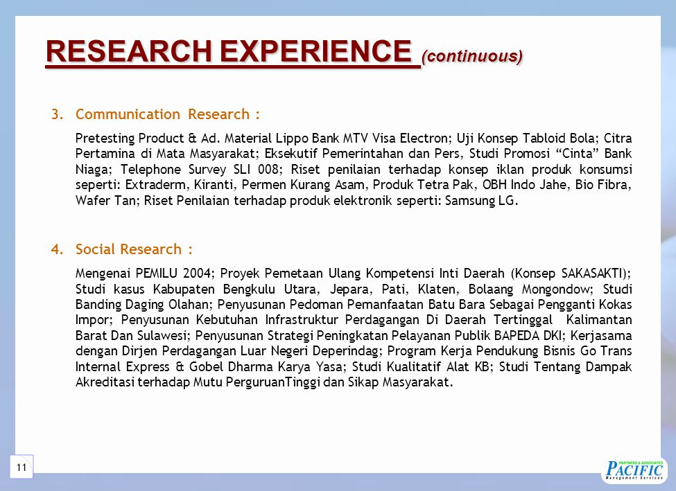 5 Services Services Market Management Research Consultation Job