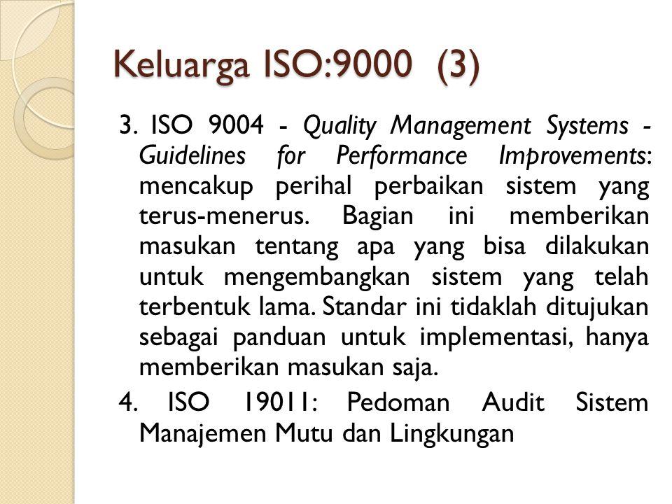 Keluarga ISO:9000 (3)