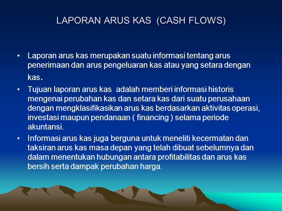 LAPORAN ARUS KAS (CASH FLOWS)