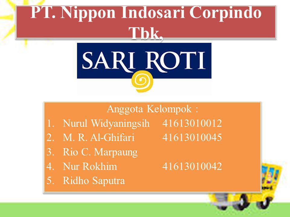 PT. Nippon Indosari Corpindo Tbk,