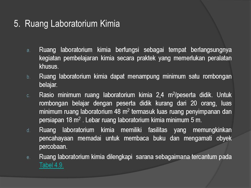 5. Ruang Laboratorium Kimia