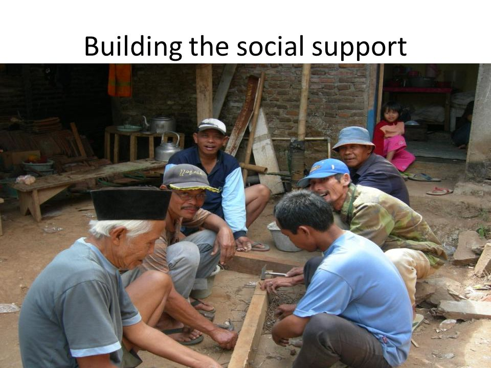 Building the social support