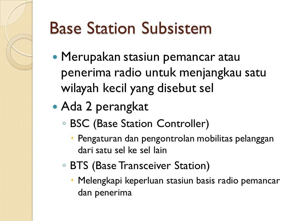 Base Station Subsistem