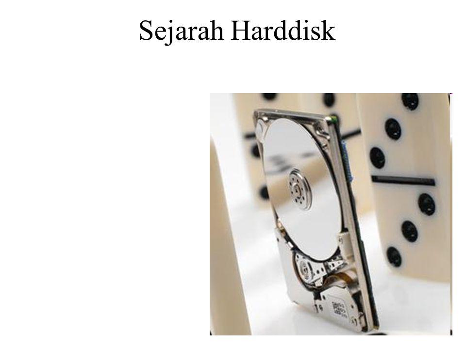 Sejarah Harddisk