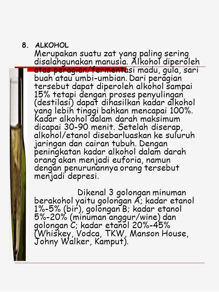 8. ALKOHOL