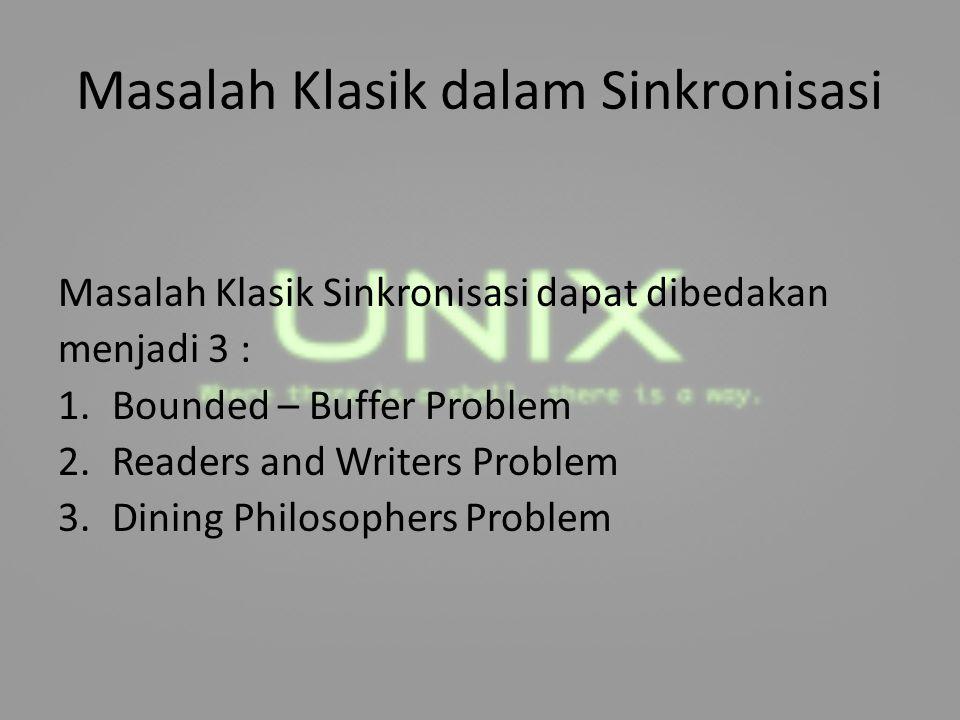 Masalah Klasik dalam Sinkronisasi