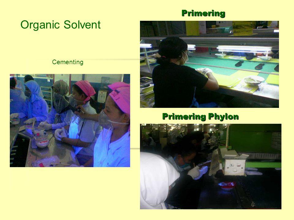 Primering Organic Solvent Cementing Primering Phylon