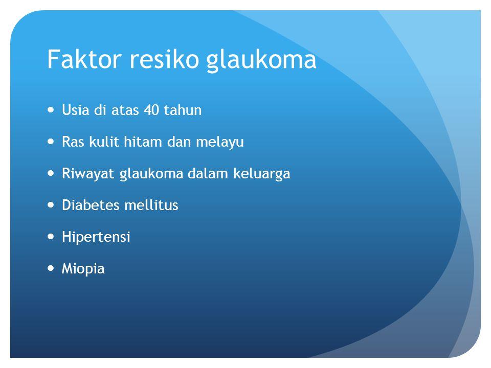 Faktor resiko glaukoma