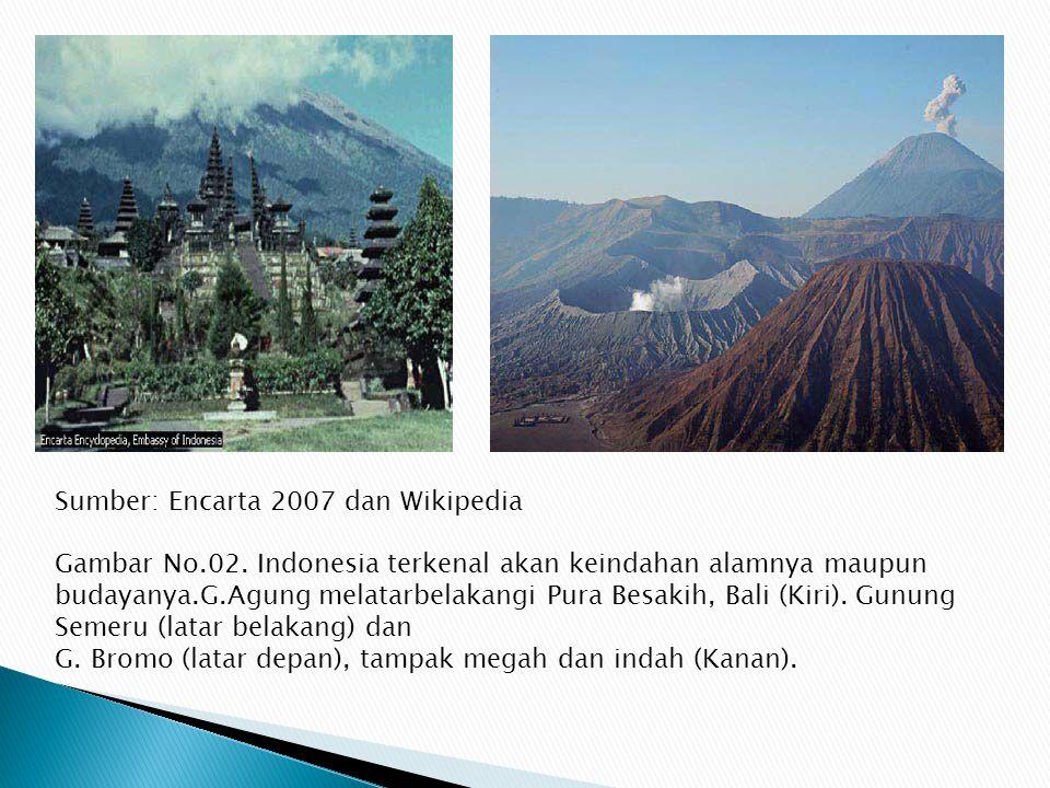Sumber: Encarta 2007 dan Wikipedia