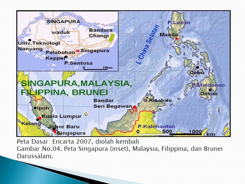 Peta Dasar: Encarta 2007, diolah kembali