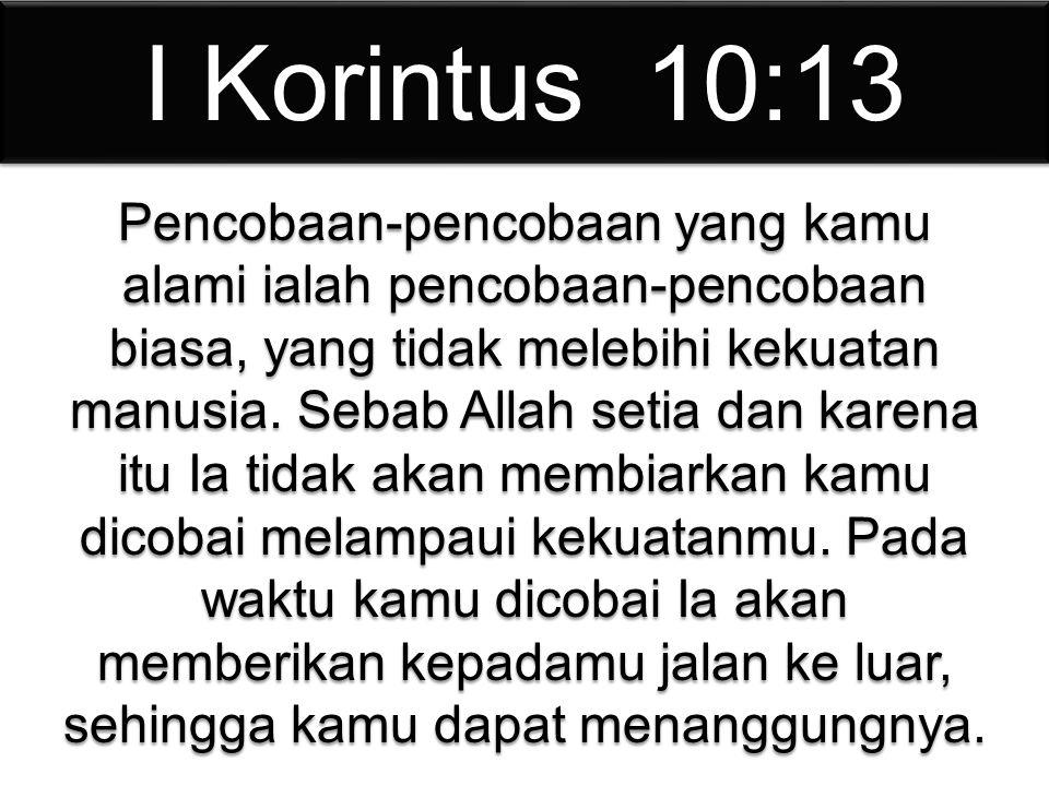 I Korintus 10:13
