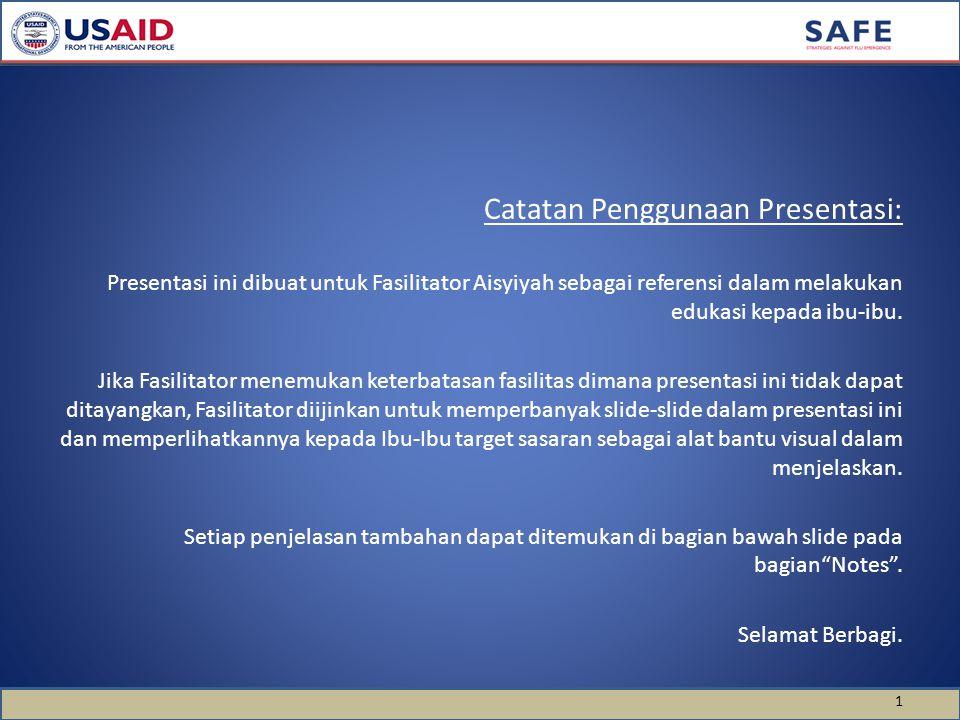Catatan Penggunaan Presentasi: