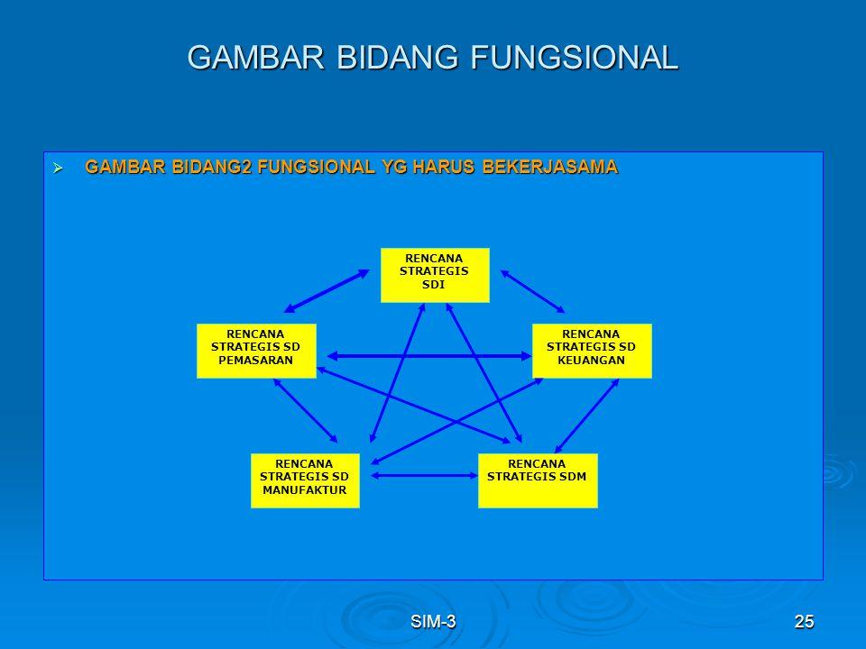 GAMBAR BIDANG FUNGSIONAL