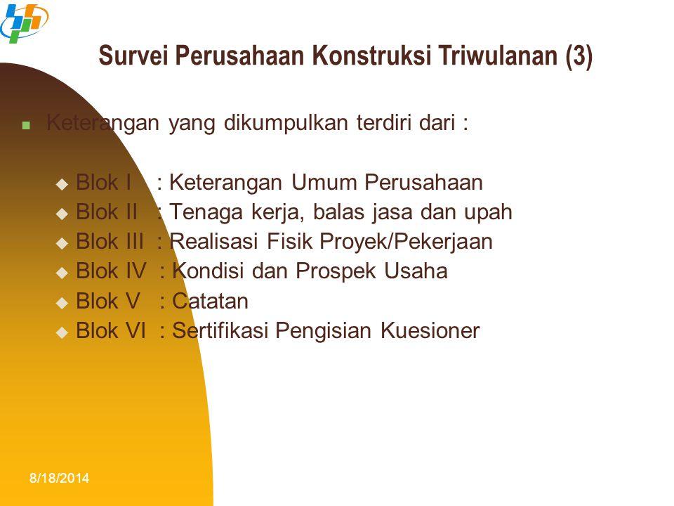 Survei Perusahaan Konstruksi Triwulanan (3)