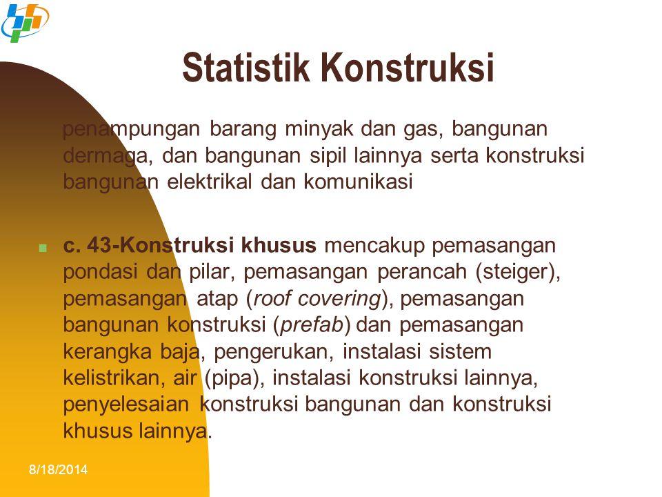 Statistik Konstruksi