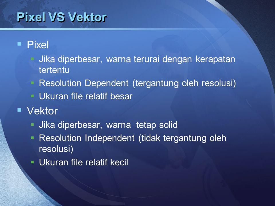 Pixel VS Vektor Pixel Vektor