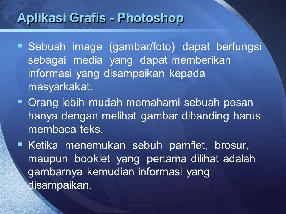 Aplikasi Grafis - Photoshop