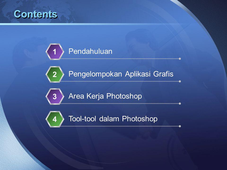 Contents 1 Pendahuluan 2 Pengelompokan Aplikasi Grafis 3