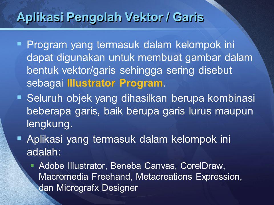 Aplikasi Pengolah Vektor / Garis