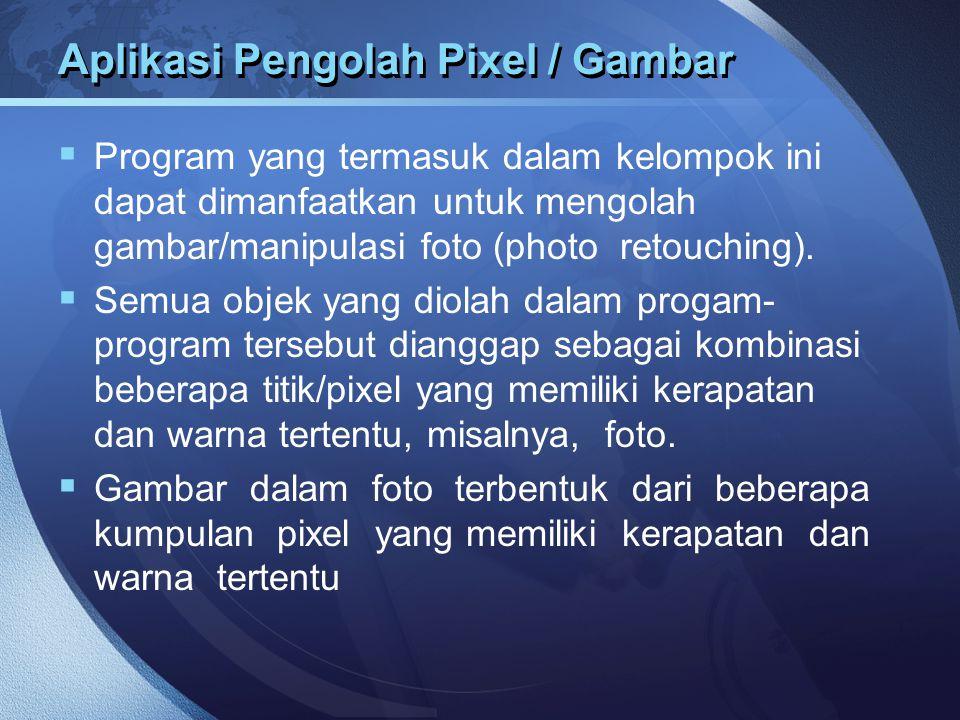 Aplikasi Pengolah Pixel / Gambar