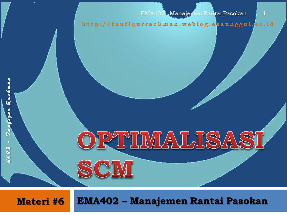 EMA402 - Manajemen Rantai Pasokan EMA402 – Manajemen Rantai Pasokan