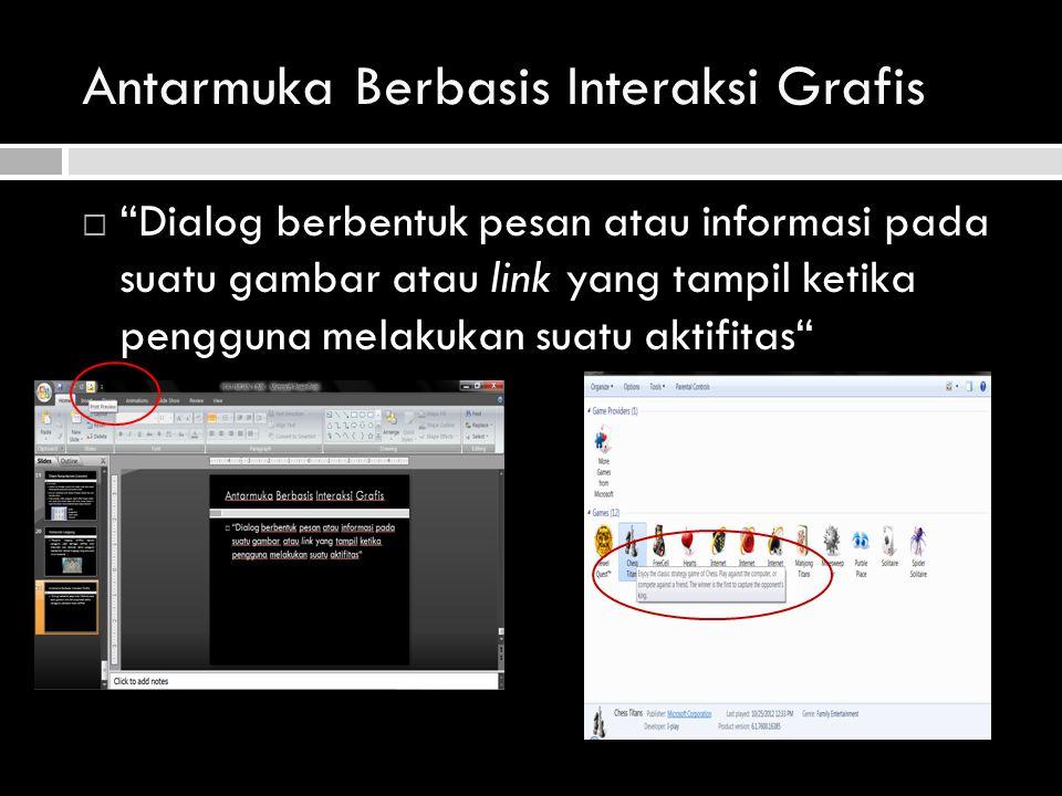 Antarmuka Berbasis Interaksi Grafis