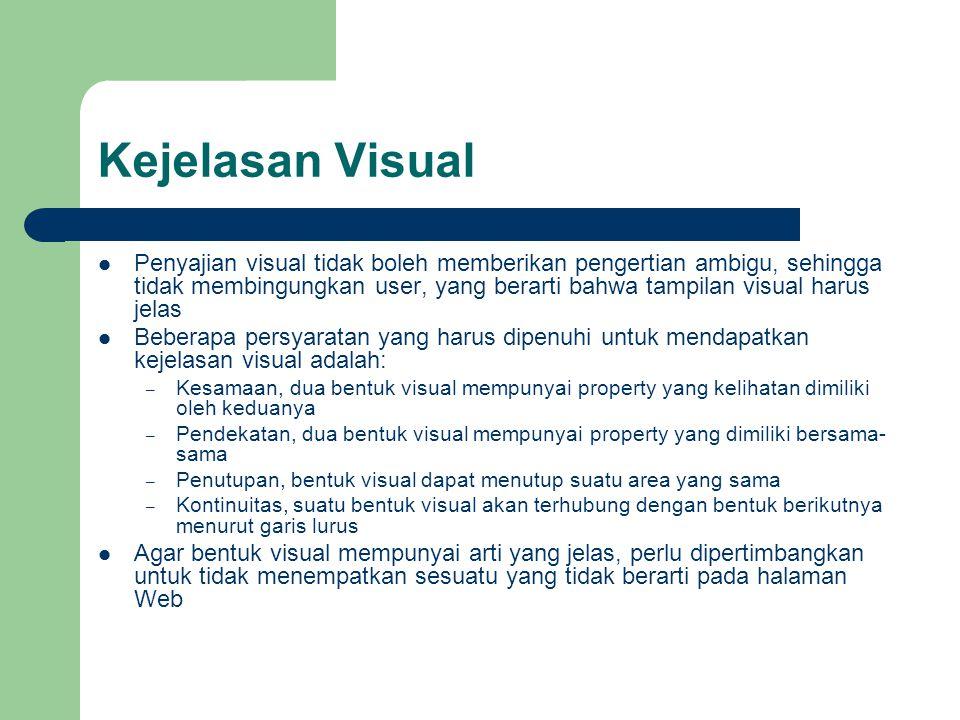Kejelasan Visual